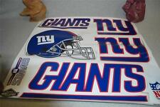 "SKINIT Huge 25"" Wide NFL Team NEW YORK GIANTS Tailgate Skins DECAL SHEET NEW"