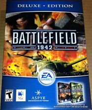 Battlefield 1942 Deluxe Edition Mac New w/ Road to Rome
