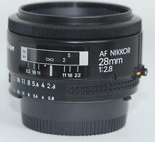 MINT- NIKON NIKKOR 28/2.8 28mm f2.8 LENS AF WIDE ANGLE FOR DIGITAL/FILM