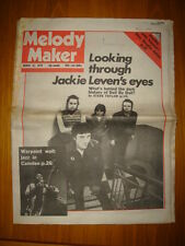 MELODY MAKER 1979 MAR 31 DOLL BY DOLL DIRE STRAITS