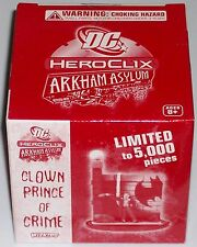 CLOWN PRINCE OF CRIME #061 #61 DC HeroClix Arkham Asylum Brick LE new sealed