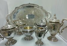 Gorham Sterling Silver 6 Piece Coffee Tea Service Set Vintage 1917 @138oz Silver