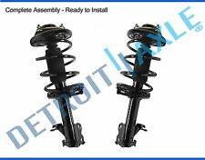 Both (2) NEW Complete Assembled Front Strut W/Coil & Spring 07-13 Chevy/GMC SUV