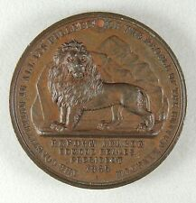 1865 The Reform League – Historic British Medal - AU/UNC Condition