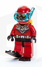 Scuba Robin LEGO Minifigure with flippers from Batman 76027