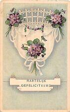 BG4206 hartelijk gefeliciteerd lilly congratulations  netherlands  greetings