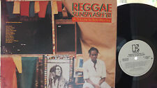 REGGAE SUNSPLASH '81 BOB MARLEY TRIBUTE DOUBLE LP WLP PROMO !!! STEEL PULSE,ETC