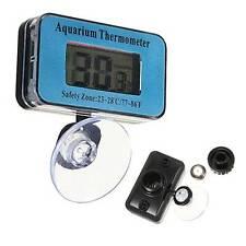 LCD Digital Ventosa Termómetro Temperatura Sumergible Acuario Pecera Pez 0~ 50°C