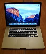"Apple Retina MacBook Pro 15"" i7 2.3GHz - 3.5GHz 8GB 512GB SSD"