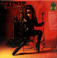 The Cramps - Flamejob LP - Numbered Limited Opaque Red Vinyl - NEW COPY