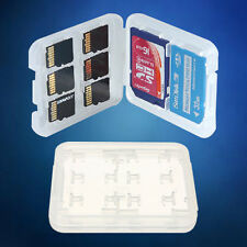 New 8 in1 Micro SD SDHC TF MS Memory Card Storage Box Protector Holder Hard Case