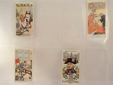 **HOWLERS CIGARETTE CARDS 'NELSON, SHAKESPEAR, KING ALFRED.. BY CHURCHMAN X 4**