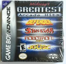 MIDWAY'S GREATEST ARCADE HITS ~ NINTENDO GAME BOY ADVANCE GAME ~ NEW AND SEALED!