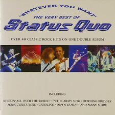 2x CD - Status Quo - Whatever You Want (The Very Best Of Status Quo) - #A1494