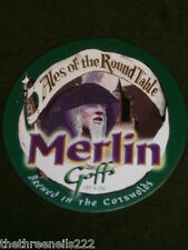 BEER PUMP CLIP - ALES OF THE ROUND TABLE MERLIN