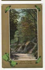 Surrey Scenes, Chart Lane Dorking Postcard, A696