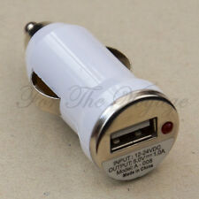 USB Car Boat Charger Adapter 12V DC to 5V 1A 1000mA 4 Phone MP3 Lighter Socket