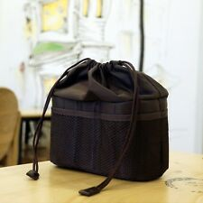 NEW Ciesta Camera insert Partition Padded Bag Case(Dark Brown) for SLR RF instax