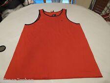 Volcom Stone standard staple tank top shirt dull red Men's small S surf skate