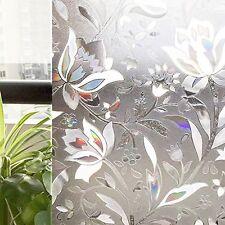 CottonColors No Glue 3D Static Decorative Window Films 3Ft X 6.5Ft.90 x 200Cm