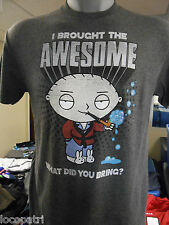 Mens Licensed Family Guy I Brought The Awesome What Did You Bring? Shirt New L
