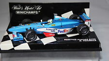 1/43 BENETTON PLAYLIFE B198 G. FISICHELLA 1998 BY MINICHAMPS