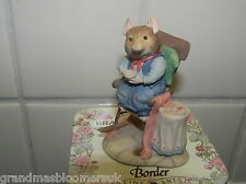 BRAMBLY HEDGE BORDER FINE ARTS BFA MR APPLE IN ROCKING CHAIR BH5 IN  TIN