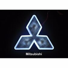 LED Car Tail Logo  White light Auto Badge Light for Mitsubishi Lancer Lioncel