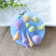 Silicone Mold Shell Baking Fondant Cake Molds Polymer Clay Resin Craft Jewelry
