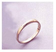 Ladies Plain 14kt Yellow Gold Wedding Band Size 7
