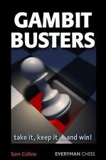 Gambit Busters: Take it... By Collins. NEW CHESS BOOK