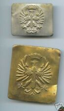 2 old SPAIN CIVIL WAR BUCKLE Royal Spanish Army