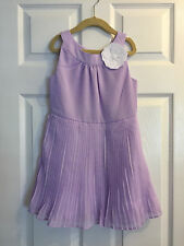 NWT $69 Janie and Jack Pleated Chiffon Dress, Santorini Suite, Size 6