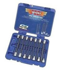 VIM TOOLS #HXLM100: 14pc 3/8-drive METRIC Extra-Long HEX & BALL-HEX Socket Set.
