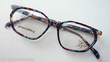 Markengestell Brillenfassung Nigura bunt Acetat ausgefallen GR.S Butterfly frame