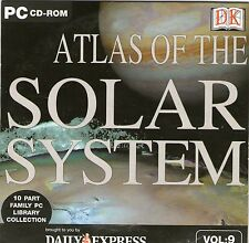 SOLAR SYSTEM DORLING KINDERSLEY - WINDOWS 95, 98, XP FREE P&P UK