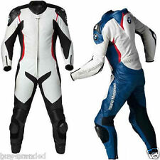 BMW MOTOGP Motorcycle Leather Suit Racing Cowhide Leather Suit ONE PIECE