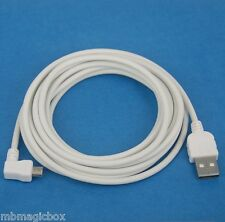 3M 10ft CHARGER ONLY Left Angle Micro USB Cable WHITE for Yoga Tab Pro 3 10 8 2