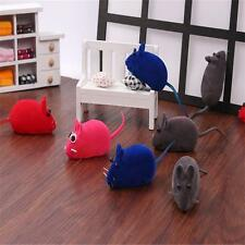 Pet Dog Cat Sound Mice Play Toy Flocking Rat Mouse Funny Quality Multicolor SZ