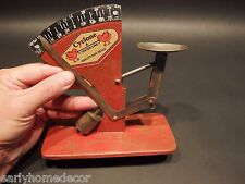Vintage Farm Country Antique Style  Cyclone Chicken Hen Rooster Egg Scale