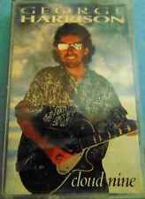 "George Harrison ""Cloud Nine"" Cassette with Ringo, Jeff Lynn, Eric Clapton"