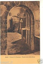 Italie - cpa - ASSISI - Chiesa di S. Damiano - Piccolo coro di S. Chiara (H9648)
