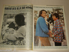 LIZA MINNELLI clipping articolo foto photo 1973 OGGI DESI ARNAZ JR