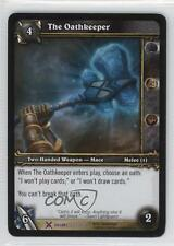 2008 World of Warcraft TCG: Drums War Booster Pack Base #233 The Oathkeeper 2p7