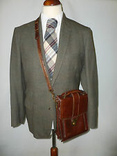 MENS HEAVYWEIGHT PURE WOOL COUNTRY TWEED  SUIT  -- SIZE UK 38/40 R BRITISH MADE