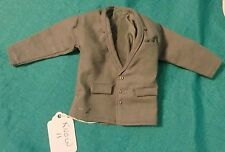 Dark Gray Suit Coat with Breast Pocket & Narrow Lapel for Ken Barbie Doll KNOW11