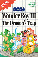 ## SEGA Master System - Wonder Boy 3: The Dragon´s Trap / MS Spiel ##