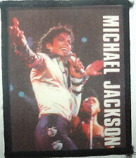 MICHAEL JACKSON On Stage Vintage 80`s/90`s Printed Sew On Patch