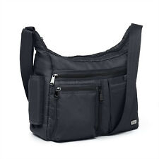 New Lug Travel DOUBLE DUTCH Cross-body Bag RFID Protection Lightweight BLACK