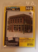 "HO Woodland Scenics ""DPM Landmark Series"" 11500 * The Other Corner Cafe kit NIB"